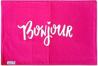 Stiletto Living Doormat / Keset- Bonjour Pink