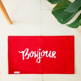 Stiletto Living Doormat / Keset- Bonjour Merah