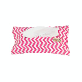 Stiletto Living Tempat Tisu - Chevron Pink