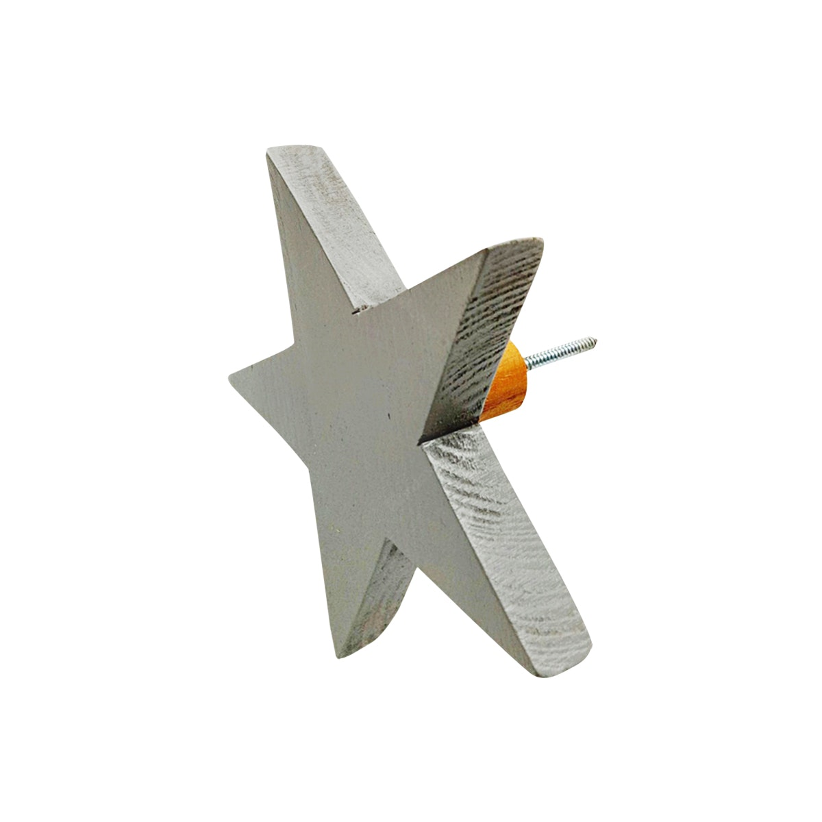 Stiletto Living Wall Hook - Star (Gantungan Dinding) / Kuning
