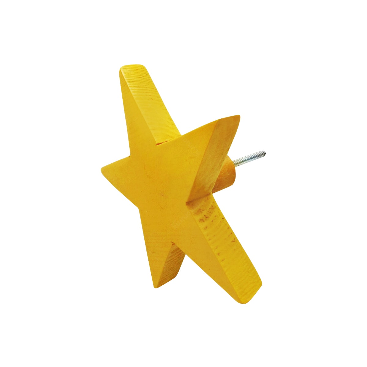 Stiletto Living Wall Hook - Star (Gantungan Dinding) / Abu - Abu