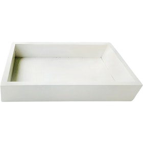 Stiletto Living Wooden Tray / Nampan Kayu - Putih