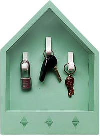 Stiletto Living Key Holder / Gantungan Kunci - Rumah Kunci / Tosca
