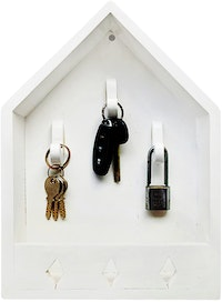 Stiletto Living Key Holder / Gantungan Kunci - Rumah Kunci / Putih