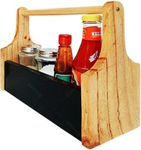 Stiletto Living Sauce Box - Hitam (Storage Box / Kotak Saos / Rak Bumbu / Rak Saos )