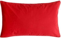Stiletto Living Sarung Bantal / Cushion Cover / Rectangle - Merah 50x30cm