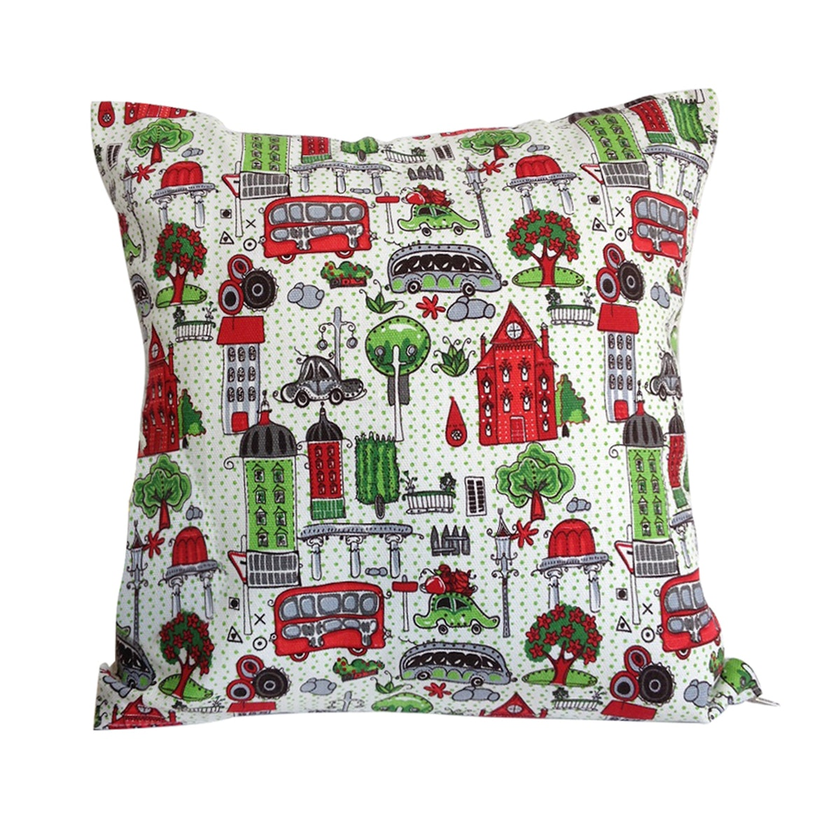 Stiletto Living Sarung Bantal / Cushion Cover - Red House 40x40cm