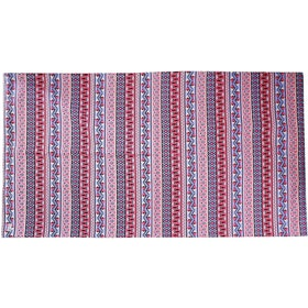 Stiletto Living Karpet kanvas / Canvas Rug - Bohemian Ungu