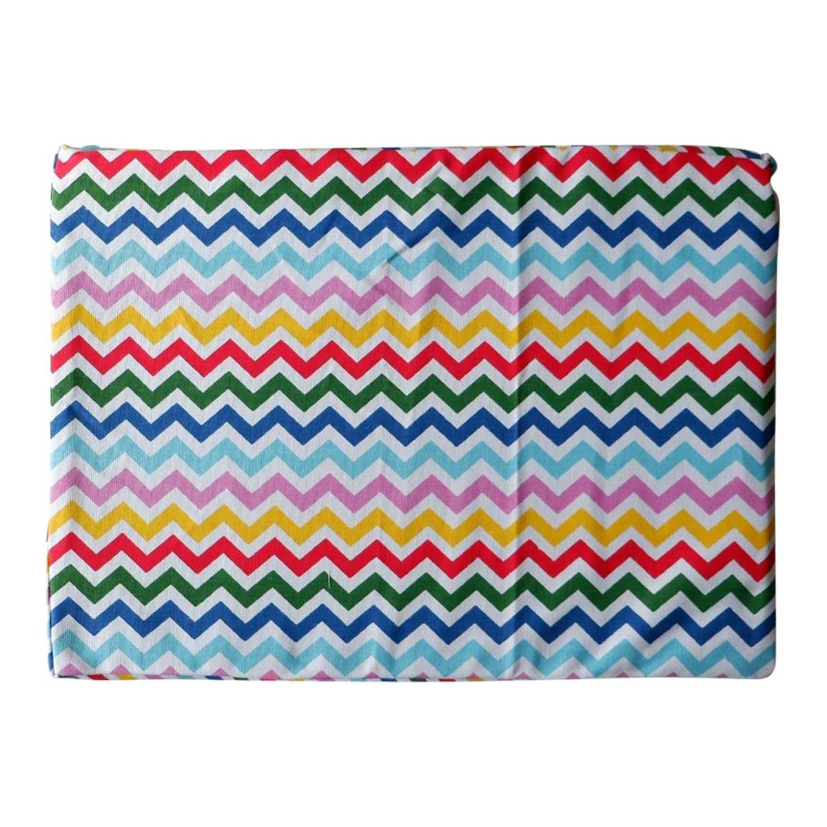 Stiletto Living Floor cushion / Alas kursi - Rainbow Chevron