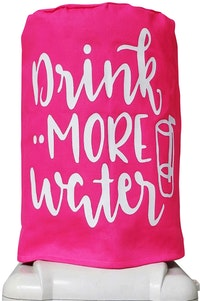 Stiletto Living Sarung Galon / Cover Galon - Drink More Water Pink