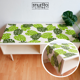 Stiletto Living Taplak Meja / Table Runner - Monstera
