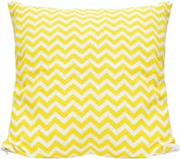 Stiletto Living Sarung Bantal Sofa / Cushion Cover - Yellow Chevron