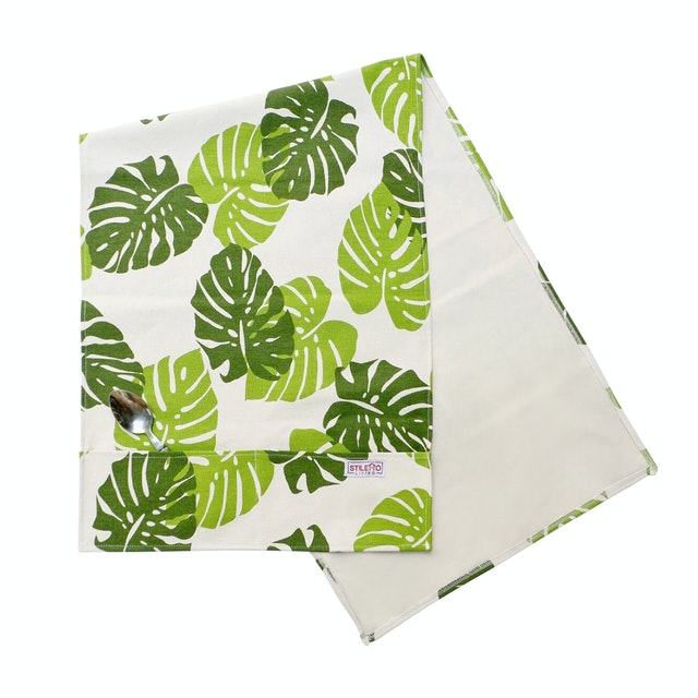 Stiletto Living Sarung Kulkas / Cover kulkas - Monstera