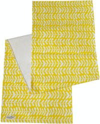 Stiletto Instyle Table Runner Yellow Silver Dollar