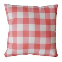 Stiletto Instyle Cushion Cover - Pink Tartan