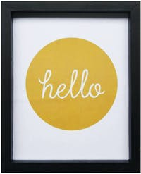 Stiletto In Style Wall Decor / Poster Printing - 25 X 30 - Golden Hello