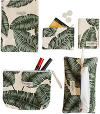 Stiletto Living Traveling Set - Green Leaf