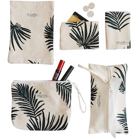 Stiletto Living Traveling Set - Palm Leaf Army