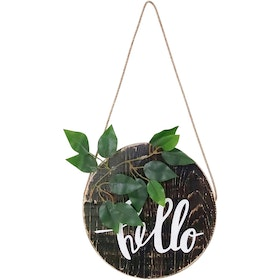Stiletto Living Door Hanger - Hello