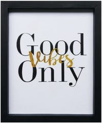 Stiletto In Style Wall Decor / Poster Printing - 25 X 30 - Good Vibes