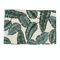 Stiletto Living Floor Cushion / Alas Duduk / Bantal Lantai - Green Leaf