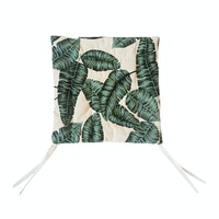 Stiletto Living Chair Pad / Alas Kursi - Green Leaf