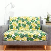 Stiletto Living Pelapis Sofa / Alas Sofa / Cover Sofa - Monstera Kuning