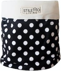Stiletto Living Small Storage - Polkadot Hitam