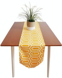 Stiletto Living Table Runner Panjang / Taplak Meja - Turtle Kuning