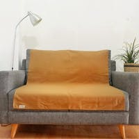Stiletto Living Pelapis Sofa / Alas Sofa / Cover Sofa - Polos Cokelat