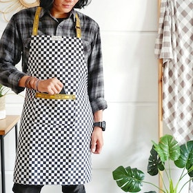 Stiletto Living Apron Fullbody / Celemek - Catur