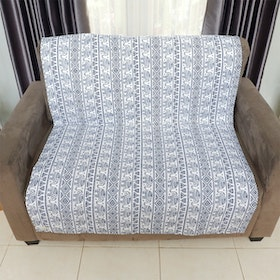 Stiletto Living Pelapis Sofa / Alas Sofa / Cover Sofa - Gajah Biru