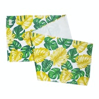 Stiletto Living Taplak Meja / Table Runner - Monstera Kuning