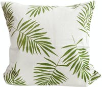 Stiletto Living Sarung Bantal Sofa / Cushion Cover - Palm Leaf Hijau Muda