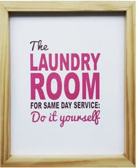 Stiletto In Style Wall Decor / Poster Printing - 25 X 30 - Laundry Room