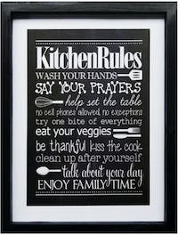 Stiletto In Style Wall Decor / Poster Printing - 30 X 40 - Kitchen Rules