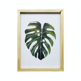 Stiletto In Style Wall Decor / Poster Printing - 30 X 40 - Big Monstera