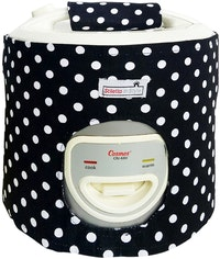Stiletto In Style Cover Rice Cooker Polkadot Hitam