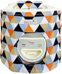 Stiletto In Style Cover Rice Cooker Triangle Black Orange