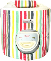 Stiletto In Style Cover Rice Cooker Rainbow Stripe