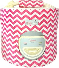 Stiletto In Style Cover Rice Cooker Pink Chevron