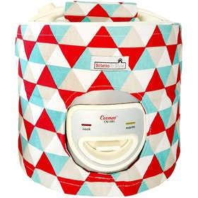 Stiletto In Style Cover Rice Cooker Triangle Merah