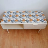 Stiletto Living Table Runner / Taplak Meja - Pakis Abu