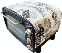 Stiletto Living Cover Microwave / Cover Oven - White Forrest
