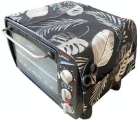 Stiletto Living Cover Microwave / Cover Oven - Black Forrest