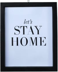Stiletto In Style Wall Decor / Poster Printing - 25 X 30 - Lets Stay Home