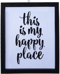 Stiletto In Style Wall Decor / Poster Printing - 25 X 30 - My Happy Place