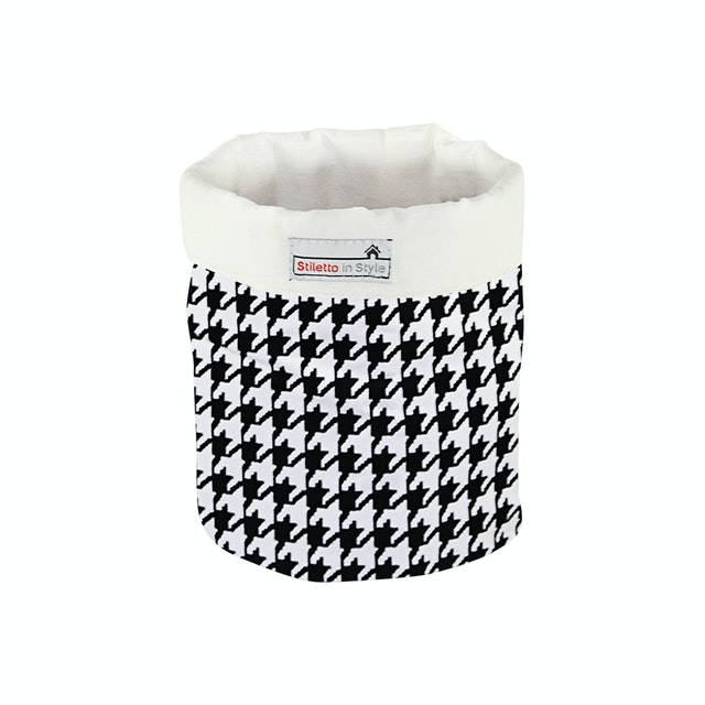 Stiletto In Style Small Storage - Houndstooth