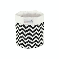Stiletto In Style Small Storage - Black Chevron