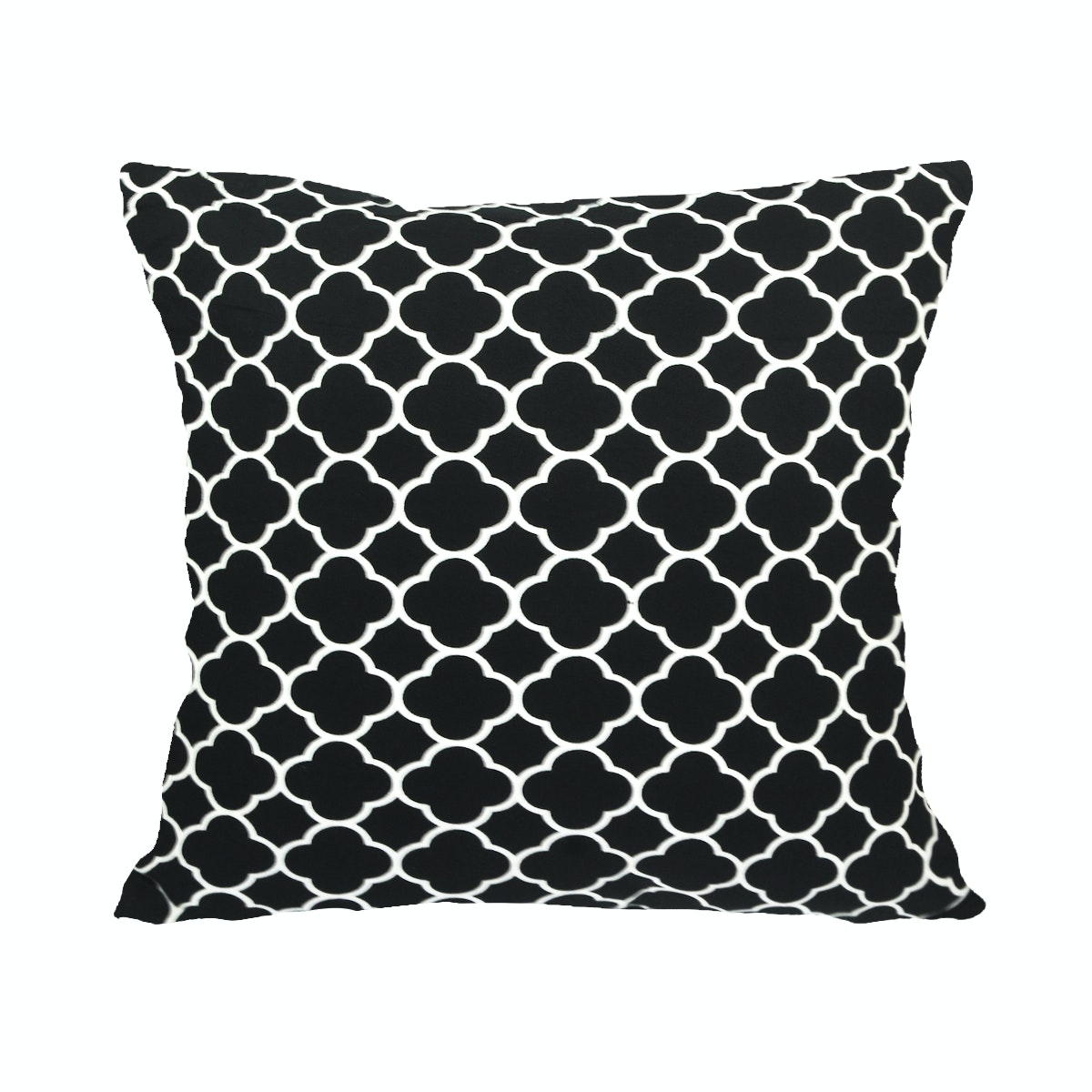 Stiletto Living Cushion Cover / Sarung Bantal Monokrom - Bw Moroccan
